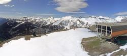 Archived image Webcam Auron - Berchia Top Station 04:00