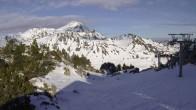 Archiv Foto Webcam Grand Tourmalet - Pourteilh 04:00