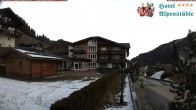 Archiv Foto Webcam Hotel Alpenstüble, Mittelberg 02:00