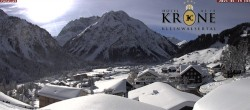 Archiv Foto Webcam Hotel Alte Krone, Mittelberg 06:00