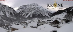 Archiv Foto Webcam Hotel Alte Krone, Mittelberg 10:00
