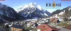 Archiv Foto Webcam Hotel Alte Krone, Mittelberg 02:00