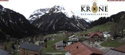 Archiv Foto Webcam Hotel Alte Krone, Mittelberg 04:00