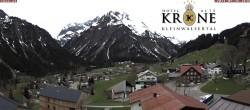 Archiv Foto Webcam Hotel Alte Krone, Mittelberg 08:00