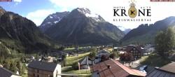 Archiv Foto Webcam Hotel Alte Krone, Mittelberg 12:00