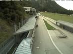 Archiv Foto Webcam Eisarena Königssee: Blick auf die Bobbahn 08:00