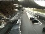 Archiv Foto Webcam Eisarena Königssee: Blick auf die Bobbahn 06:00