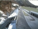 Archiv Foto Webcam Eisarena Königssee: Blick auf die Bobbahn 00:00