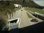 Archiv Foto Webcam Eisarena Königssee: Blick auf die Bobbahn 02:00