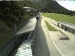 Archiv Foto Webcam Eisarena Königssee: Blick auf die Bobbahn 10:00