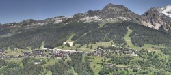 Archived image Webcam Vanoise Express Panorama 08:00