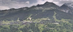 Archiv Foto Webcam La Plagne Villages Panorama 06:00