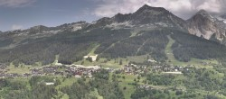 Archiv Foto Webcam La Plagne Villages Panorama 08:00