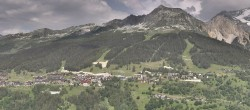 Archiv Foto Webcam La Plagne Villages Panorama 10:00