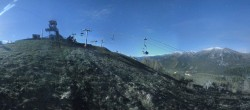 Archiv Foto Webcam Panorama La Colmiane Gipfel 18:00