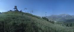 Archiv Foto Webcam Panorama La Colmiane Gipfel 20:00