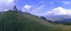 Archiv Foto Webcam Panorama La Colmiane Gipfel 04:00