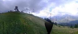 Archiv Foto Webcam Panorama La Colmiane Gipfel 08:00