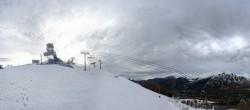 Archiv Foto Webcam Panorama La Colmiane Gipfel 10:00