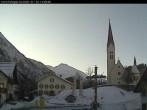 Archiv Foto Webcam Holzgau: Blick von der Pension Knitel 08:00