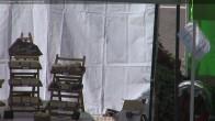 Archiv Foto Webcam Tal von Les Contamines Montjoie 04:00