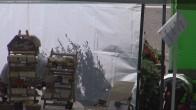Archiv Foto Webcam Tal von Les Contamines Montjoie 06:00