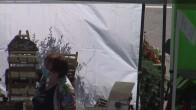 Archiv Foto Webcam Tal von Les Contamines Montjoie 08:00