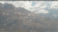 Archiv Foto Webcam Ortschaft Le Grand Bornand III 10:00