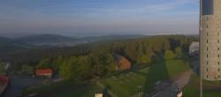 Archiv Foto Webcam Panorama Großer Inselsberg - Trusetal-Brotterode 22:00