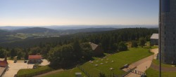 Archiv Foto Webcam Panorama Großer Inselsberg - Trusetal-Brotterode 13:00