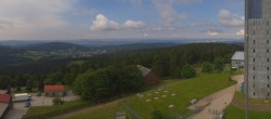 Archived image Webcam Panoramic view from Großer Inselsberg 04:00