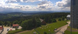 Archived image Webcam Panoramic view from Großer Inselsberg 08:00