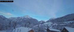 Archived image Webcam La Capelle d´Abondance: Mountain view 02:00