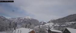 Archived image Webcam La Capelle d´Abondance: Mountain view 04:00