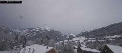 Archived image Webcam La Capelle d´Abondance: Mountain view 06:00