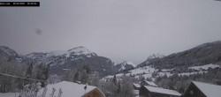 Archived image Webcam La Capelle d´Abondance: Mountain view 08:00