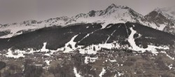 Archiv Foto Webcam Peisey Vallandry - Luftseilbahn Vanoise Express 08:00