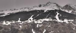 Archiv Foto Webcam Peisey Vallandry - Luftseilbahn Vanoise Express 10:00