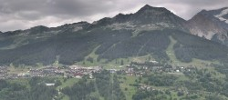 Archived image Webcam Peisey Vallandry - Aerial cableway Vanoise Express 06:00