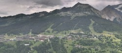 Archived image Webcam Peisey Vallandry - Aerial cableway Vanoise Express 08:00