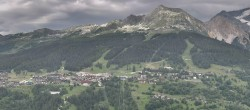 Archived image Webcam Peisey Vallandry - Aerial cableway Vanoise Express 10:00