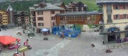 Archived image Webcam Les Arcs - Village Arc 1950 11:00
