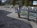 Archived image Webcam Les Grands Montets: Parking area 06:00