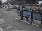 Archived image Webcam Les Grands Montets: Parking area 10:00