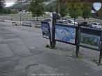 Archived image Webcam Les Grands Montets: Parking area 07:00