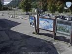 Archived image Webcam Les Grands Montets: Parking area 11:00