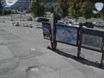Archived image Webcam Les Grands Montets: Parking area 13:00