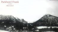 Archived image Webcam Ski-jumping hills Oberstdorf 08:00