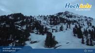 Archiv Foto Webcam Acherkogelbahn Hochoetz 21:00