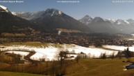 Archiv Foto Webcam Blick von der Kurklinik auf Oberstdorf 11:00